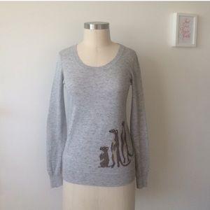 Madewell Mini-Meerkat Pullover, Size Medium
